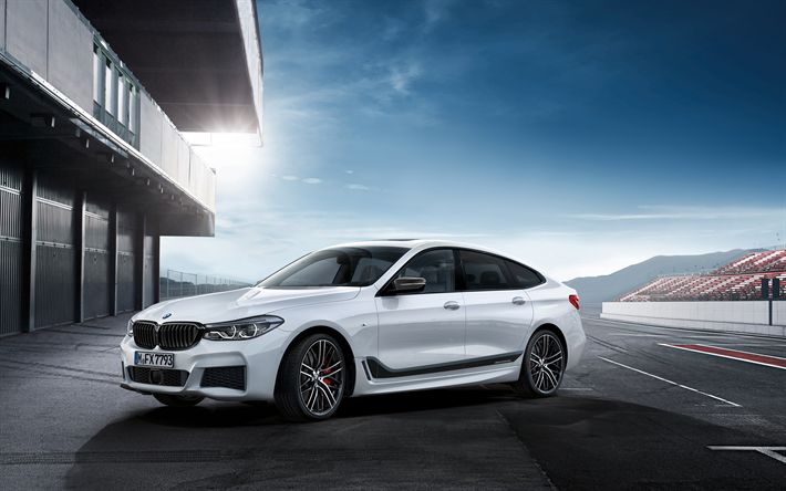 Download imagens M Performance, ajuste, 2017 carros, BMW Série 3 Gran Turismo, F34, carros alemães, BMW