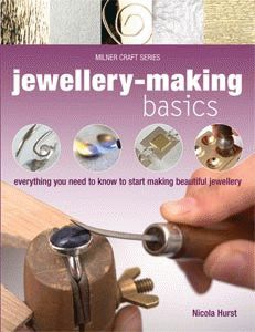 Jewellery-Making Basics by Nicola Hurst contains everything you need to know to start making beautiful jewellery.