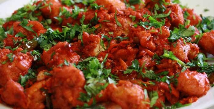 Hyderabadi Lal Chicken