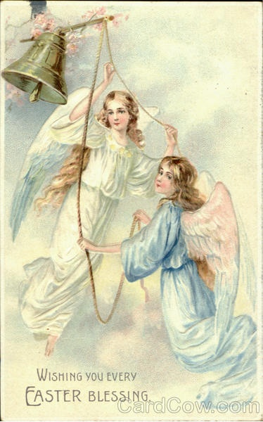 Wishing You Every Easter Blessing AngelsRisen Easter, Angels Vintage, Adorable Angels, Back Porches, Angels Watches, Angels Image, Easter Blessed, Blessed Angels, Porches Graphics