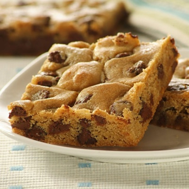 Chocolate chip cookie dough brownies | Sweets | Pinterest