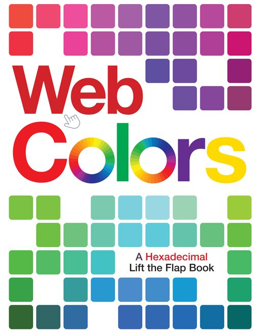 Web Colors a hexadecimal lift-the-flap book cover image