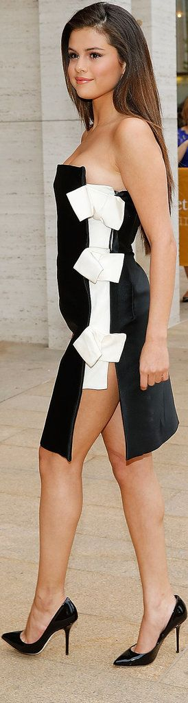 Selena Gomez in Lanvin at the American Ballet Theatre Opening Night Spring Gala.