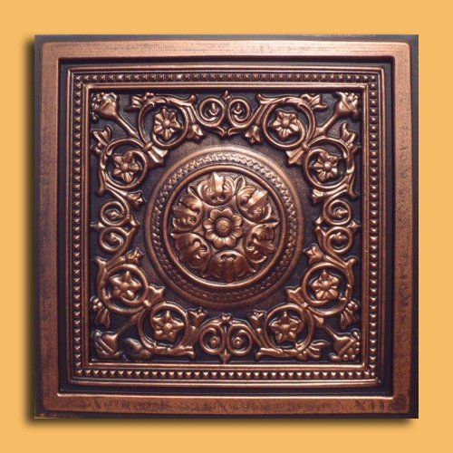 24x24 Home Addition: 30pc Of Majesty CopperBlack 24x24 PVC 20 Mil Ceiling Tiles