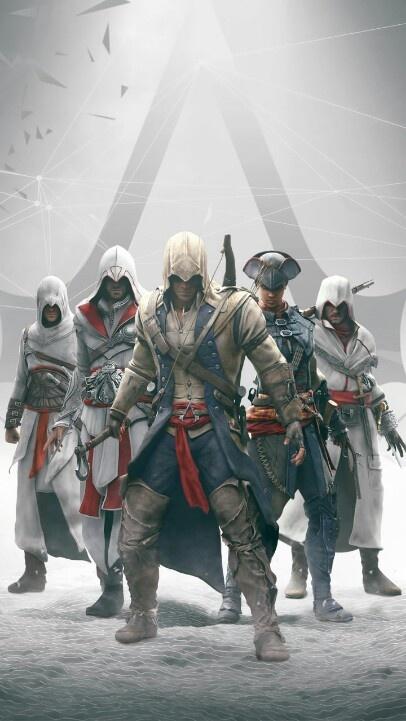 All of the Assassins in Assassins Creed - I, Brotherhood, II, Revelations, III