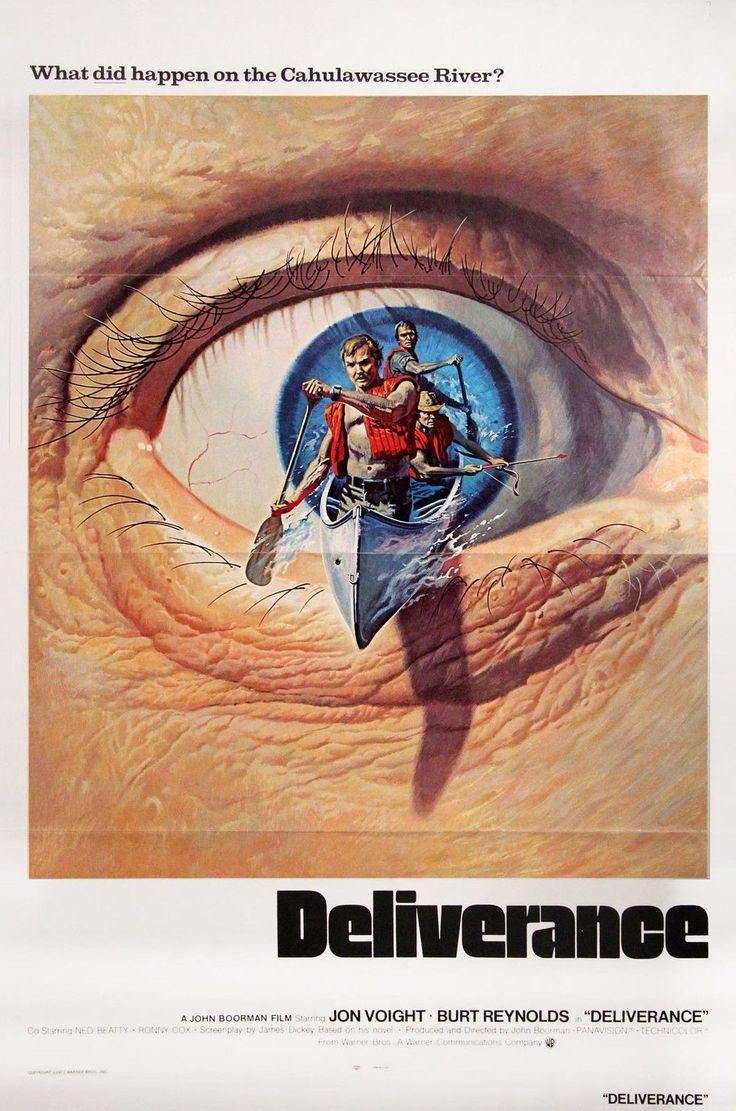DELIVERANCE (1971) Orig US one sheet for INT'L release provocative artwork FINE | eBay
