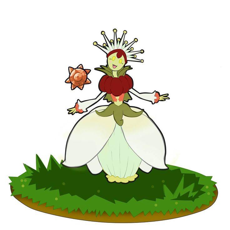 Conozca a... ÑANGQUEEN, de tipo planta. Es la evolución de prinñang con ayuda de la Piedra Solar. ¡espero que les guste! #fakemon #fakemonart #pokemon #pokemonart #pokedex
