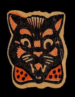 Ben Cooper Box ArtCutout Ben, Halloween Addict, Black Cats, Halloween Fun, Art Details, Boxes Art, Cat Masks, Ben Cooper, Cooper Boxes