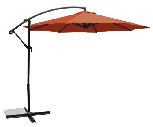 Epic Ace Evert Offset Umbrella ft Polyester Terra Cotta Ace Evert http