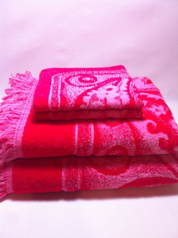 Wonderful 50 best Vintage bath towels images on Pinterest | Bath towels  ZJ02