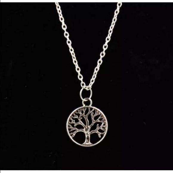 Solid Silver Tree of Life Sterling Silver Anklet Ankle Chain with Pearls 1