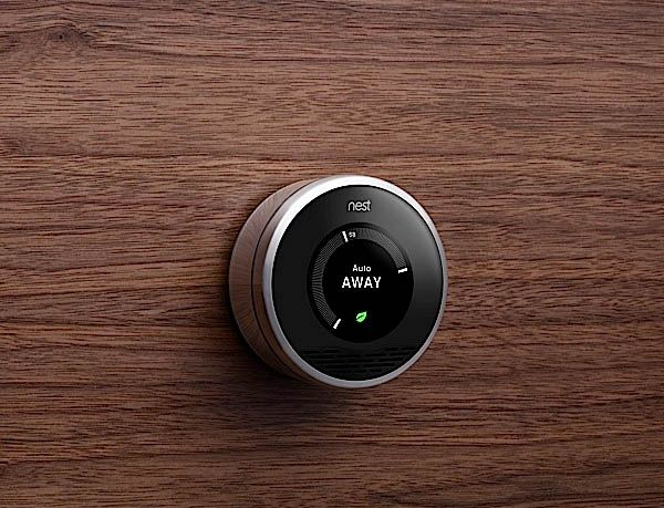 Knowing someone that works for the company, never makes this thing not stand out when I see it.    The Nest-- Intelligent Home Thermostat