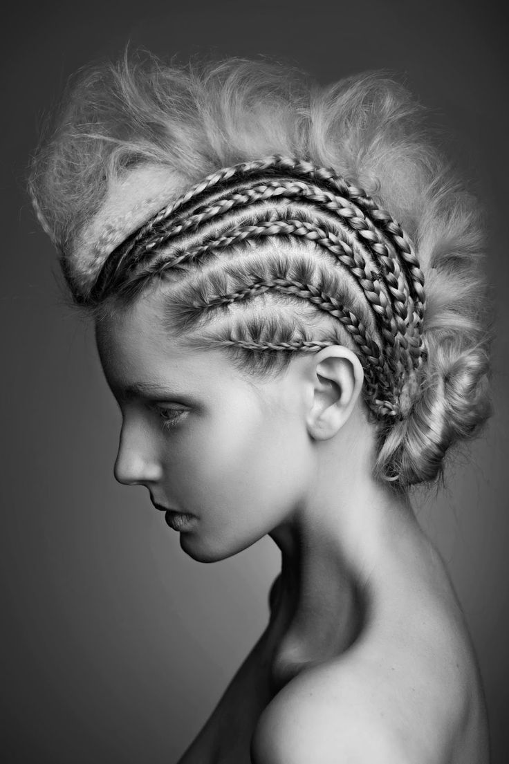Avant Garde Designer: 17 Best Images About Fashion Show Hairstyles (ideas) On