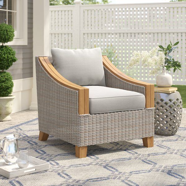 Easy To Clean Weatherproof And Eco Friendly Teak Is A Perfect Material For Outdoor Spaces This Arm Chair Lounge Chair Outdoor Patio Lounge Chairs Furniture