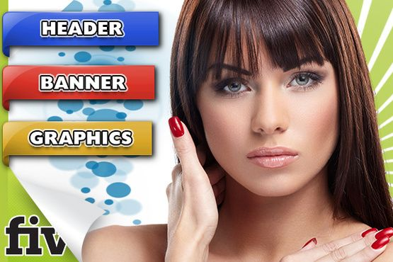 create HEADER, banner, web cover, facebook twitter by hurz