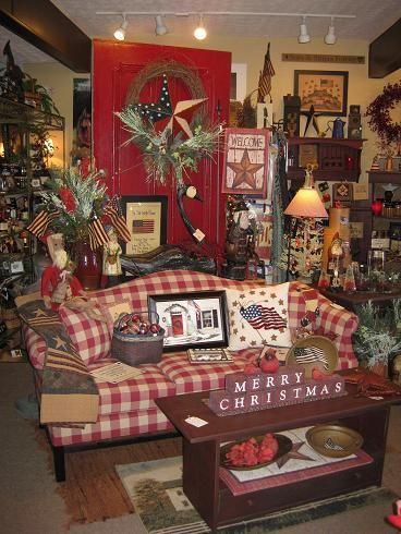 Kentucky Americana Gift Basket & Décor Shop The Red