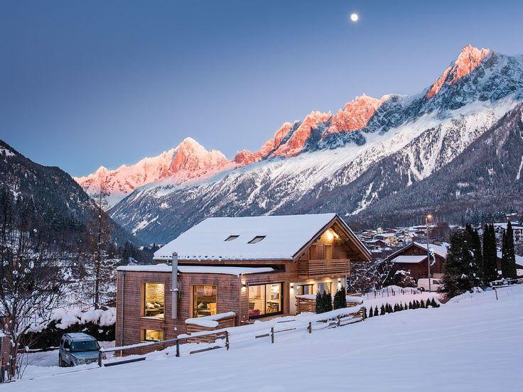 Chalet de esquí para 16 en Francia #esqui #nieve #snow #casas #HomeAway #travel #viajar