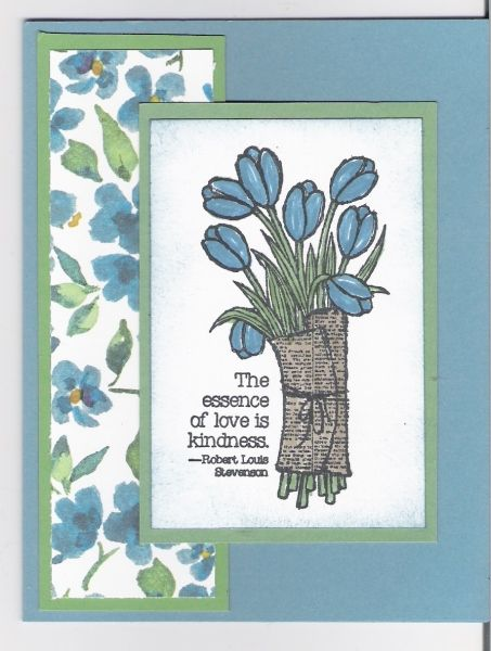 January Class by Tina Lesson : Love is Kindness Stamp Set