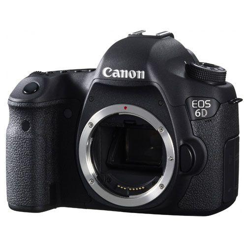 Canon EOS 6D Digital SLR - Body Only - Digital Camera Warehouse