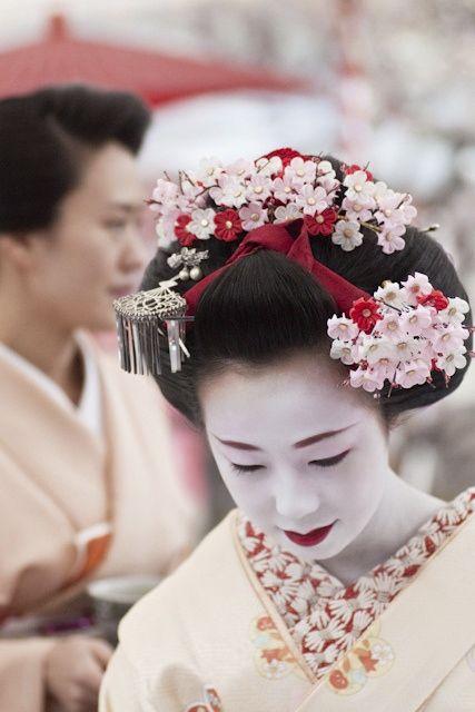 At Baika-sai (Japanese apricot festival) Kitano-tenmangu shrine, Kyoto, Japan. Text and photography by yocca on Flickr