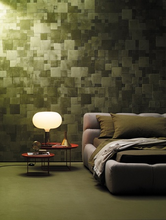 leather wall by Studioart leather interiors