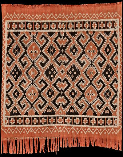 Seko mandi warp Ikat from the Toraja, Sulawesi, Indonesia