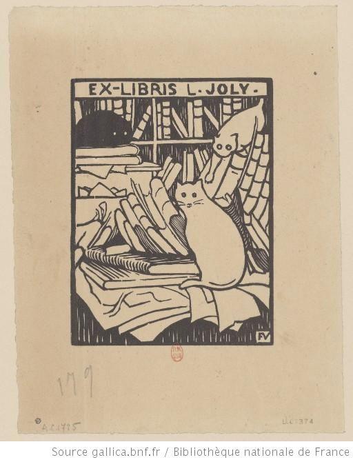 Ex-libris L. Joly. : [estampe] / Félix Vallotton - 1893