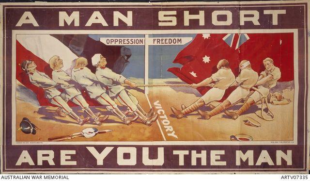 A man short: are you the man | Australian War Memorial