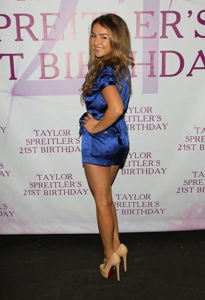 Lexi Ainsworth celebrated Taylor Spreitler's 21st Birthday in Studio City, CA on Saturday, October 25th. See the photos!