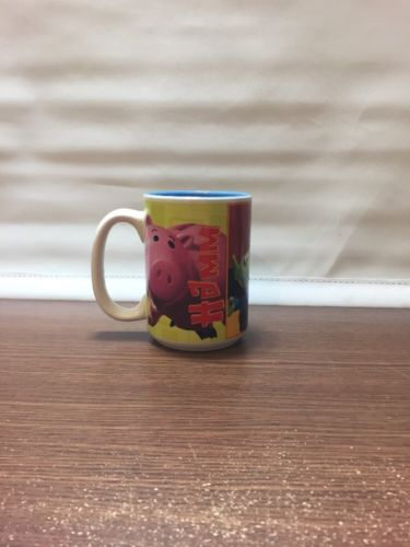 DISNEY STORE TOY STORY Rex Hamm Aliens MUG CUP PIXAR in Collectables, Disneyana, Contemporary (1968-Now) | eBay