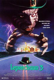 Watch Leprechaun 3 Movie Online. An evil leprechaun finds himself in Las Vegas, where he proceeds to cause mischief by killing people, granting twisted wishes, and infecting a young man with his green blood.