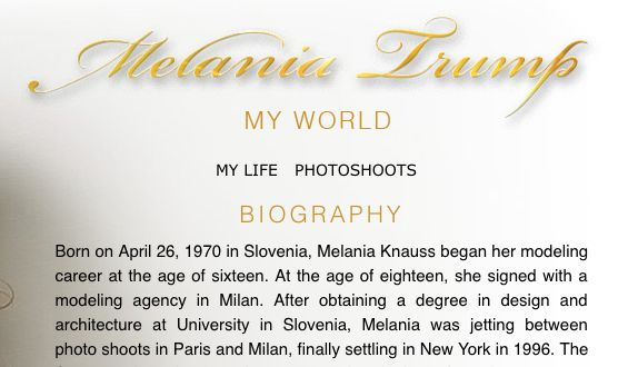 Melania Trump – s College Degree #donald #trump, #melania #trump http://nevada.remmont.com/melania-trump-s-college-degree-donald-trump-melania-trump/  # Matter of Degrees RATING ORIGIN Melania Trump, Donald Trump s third wife, entered the political spotlight in July 2016 as she took the stage to give a speech at the Republican National Convention in Cleveland, Ohio. She quickly drew accusations that she plagiarized a portion of her speech from Michelle Obama. Not long after that, several…