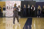 "Portland Trail Blazers point guard Damian Lillard helped kick off this year's ""Respect, Pass it On"" campaign at Wilsonville High School by sharing his experiences growing up in Oakland."
