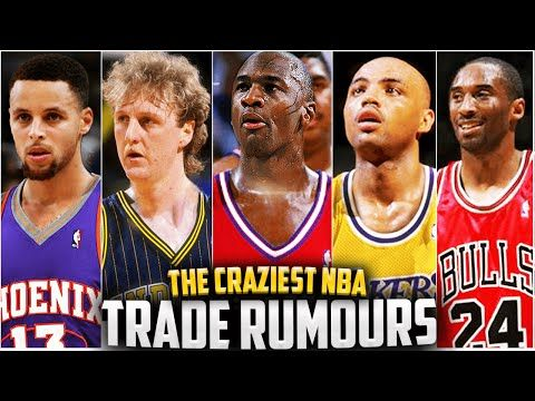 10 Crazy NBA Trades That ALMOST HAPPENED!! Steph Curry, Michael Jordan, Kobe, Bird + More! - YouTube