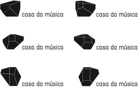 Casa de Musica identity, Sagmeister