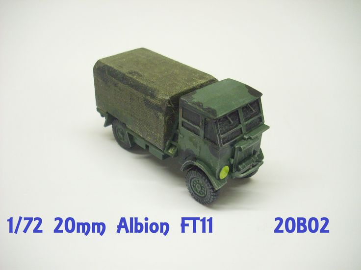 20mm Albion FT11 WW2 British Army Truck
