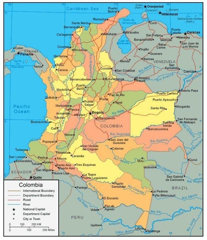 Colombia Map Kanada Reisen Kanada Vancouver
