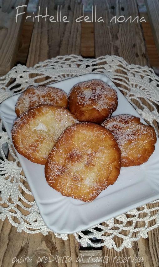 Frittelle della nonna - ricetta frittelle povere | cucina preDiletta