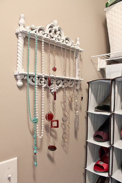 25 best ideas about hanging necklaces on pinterest diy for Jewelry organizer ideas