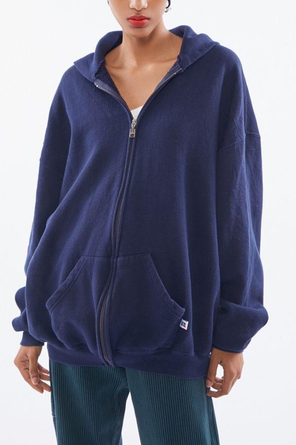 Urban Renewal Vintage Oversized Zip Up Hoodie Sweatshirt In 2020 Hoodie Outfit Casual Hoodie Outfit Sweatshirts Hoodie