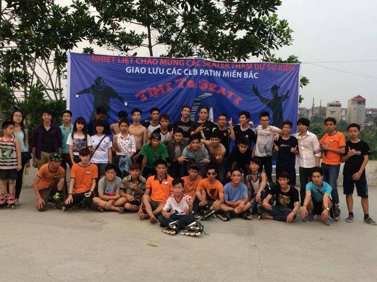 Giao lưu Skate Thái Nguyên 19/4/2015