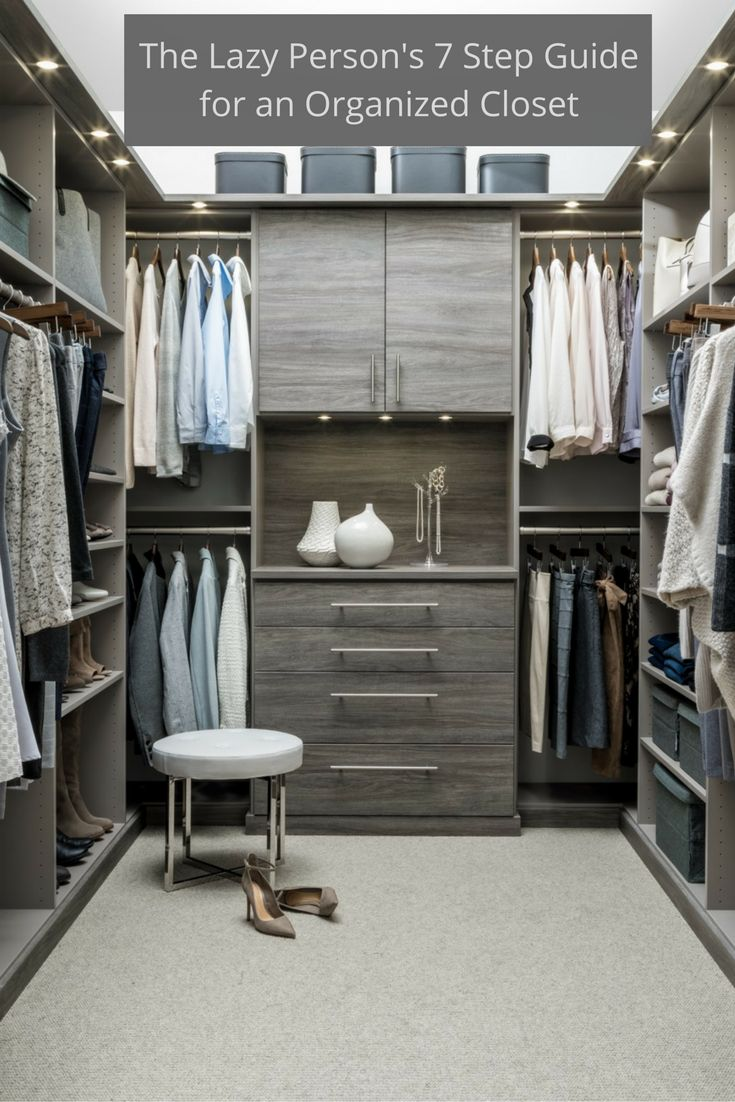 7 Step Guide To An Organized Columbus Custom Closet