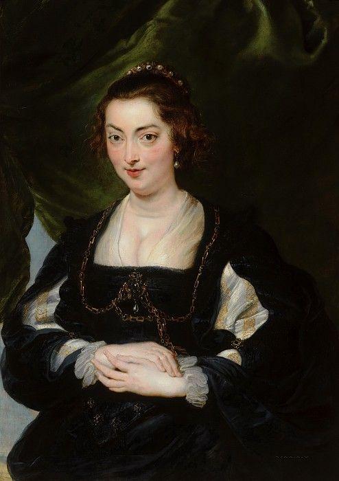 Рубенс, Питер Пауль (и мастерская) - Портрет женщины. Маурицхёйс