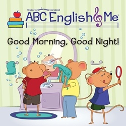 Time to wake up! The third unit of ABC English & Me explores every child's daily activities and routines:   waking up, getting dressed, going out and about, taking a bath, and going to bed. Children learn lots of new words around animals and clothing. www.abcenglishandme.com