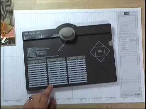 Donne un bon truc pour doubler mes enveloppes avec du papier décoratif.  Stampin'UP! - Enveloppe pour pochette à poinçonner