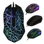 BM007 USB Wired Optical Gaming Mous...