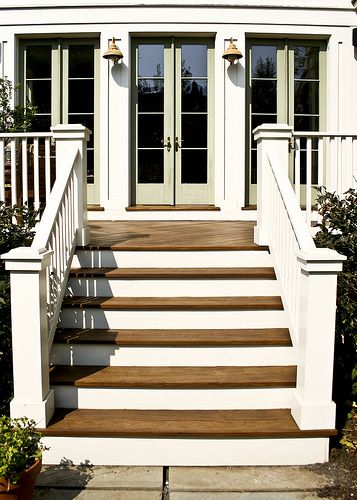 Cleveland Park Ipe Deck Stairs