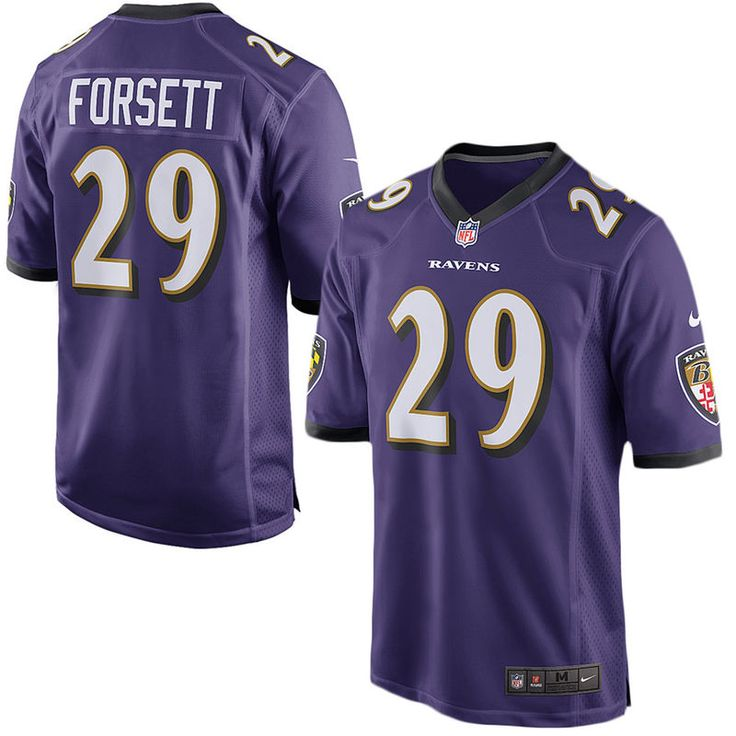 Justin Forsett Baltimore Ravens Youth Nike Team Color Game Jersey - Purple