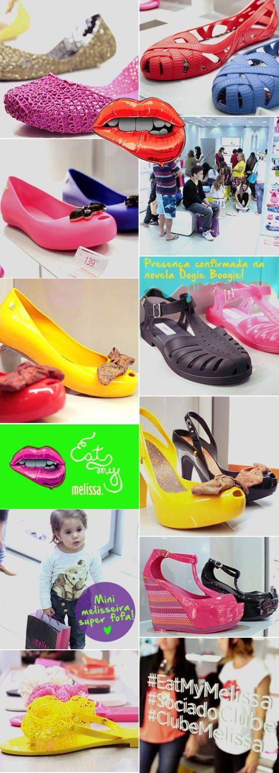 """A coleção """"Eat My Melissa"""" chegou ao Taguatinga Shopping! Clique na imagem para saber mais ;)"""
