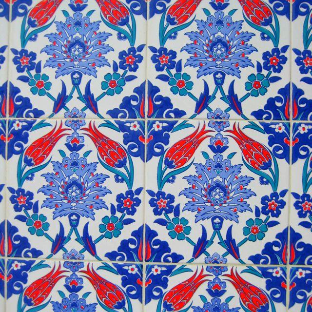 Turkish tile. Pattern